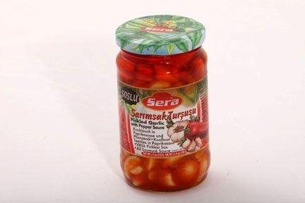 PICKLED GARLIC WITH PEPPER SAUCE 290G