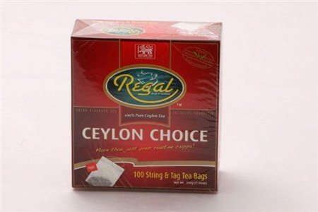 REGAL CEYLON CHOICE BLK TEA 200G